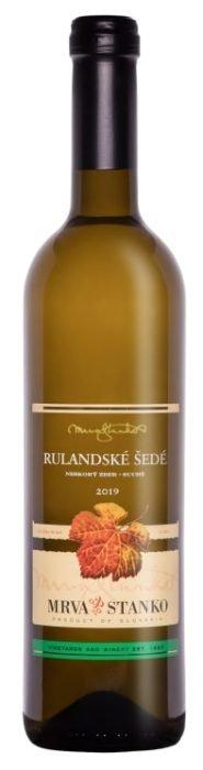 MRVA STANKO Rulandske Sede | Niet bekend | gemaakt van de druif: Pinot Gris