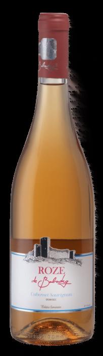 ROZE de Babadag Pinot Gris | Roemenië | gemaakt van de druif: Pinot Gris