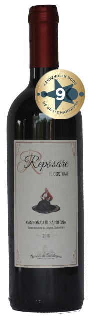 Pasquale Bonamici Reposare 'Il Costume' Cannonau | Italië | gemaakt van de druif: Cannonau