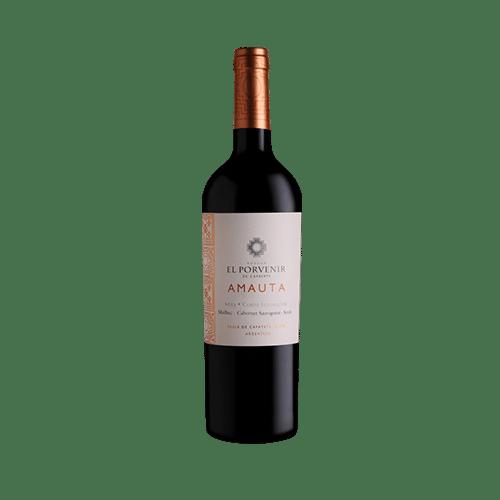 Bodega El Porvenir De Cafayate Amauta Corte I Inspiración Malbec – Cabernet – Syrah | Argentinie | gemaakt van de druif: Cabernet Sauvignon, Malbec, Syrah