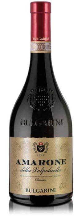 Bulgarini Amarone della valpolicella DOCG Classico | Italië | gemaakt van de druif: Corvina, Corvinone, Rondinella