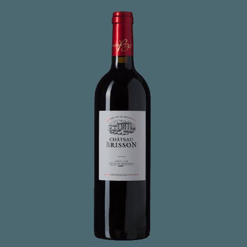 Château Brisson Castillon Côtes De Bordeaux | Frankrijk | gemaakt van de druif: Merlot