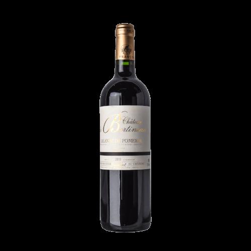 Château de Bertineau Lalande de Pomerol | Frankrijk | gemaakt van de druif: Cabernet Franc, Cabernet Sauvignon, Merlot