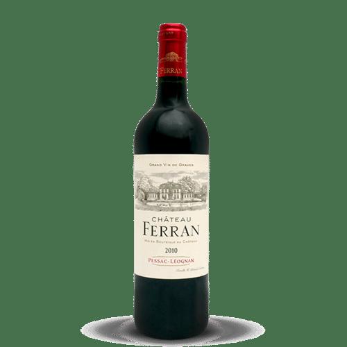 Château Ferran Pessac-Léognan | Frankrijk | gemaakt van de druif: Cabernet Sauvignon, Merlot, Petit Verdot