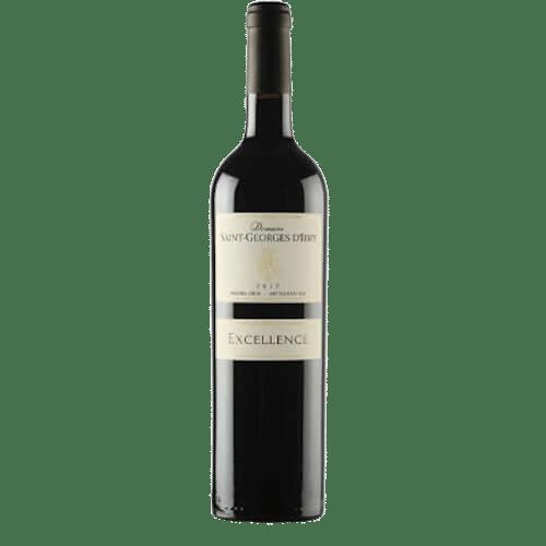 Domaine Saint Georges d'Ibry Excellence Rouge 2019 | Frankrijk | gemaakt van de druif: Cabernet Sauvignon, Merlot, Syrah