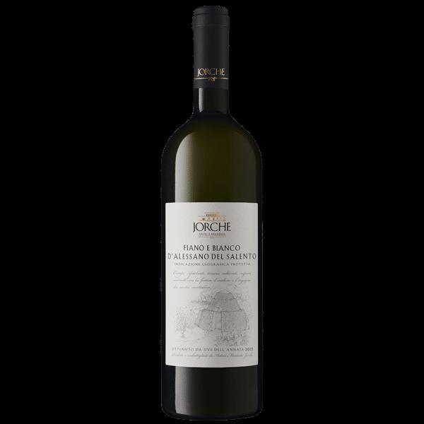 Jorche Fiano e Bianco D'Alessano IGP Salento | Italië | gemaakt van de druif: bianco d'allesano, Fiano Minutolo