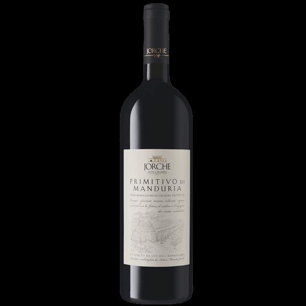 Jorche Primitivo di Manduria DOP | Italië | gemaakt van de druif: Primitivo