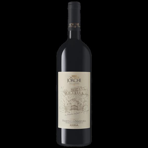 Jorche primitivo di Manduria riserva | Italië | gemaakt van de druif: Primitivo