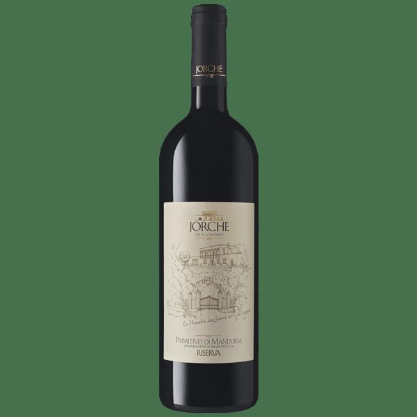 Jorche primitivo di Manduria riserva   Italië   gemaakt van de druif: Primitivo