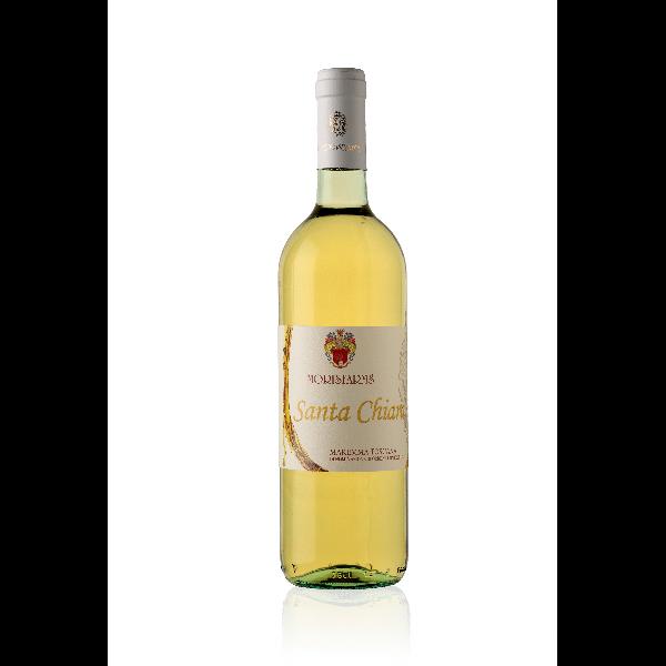 Morisfarms Santa Chiara Maremma Toscana Bianco DOC | Italië | gemaakt van de druif: Ansonica, Vermentino
