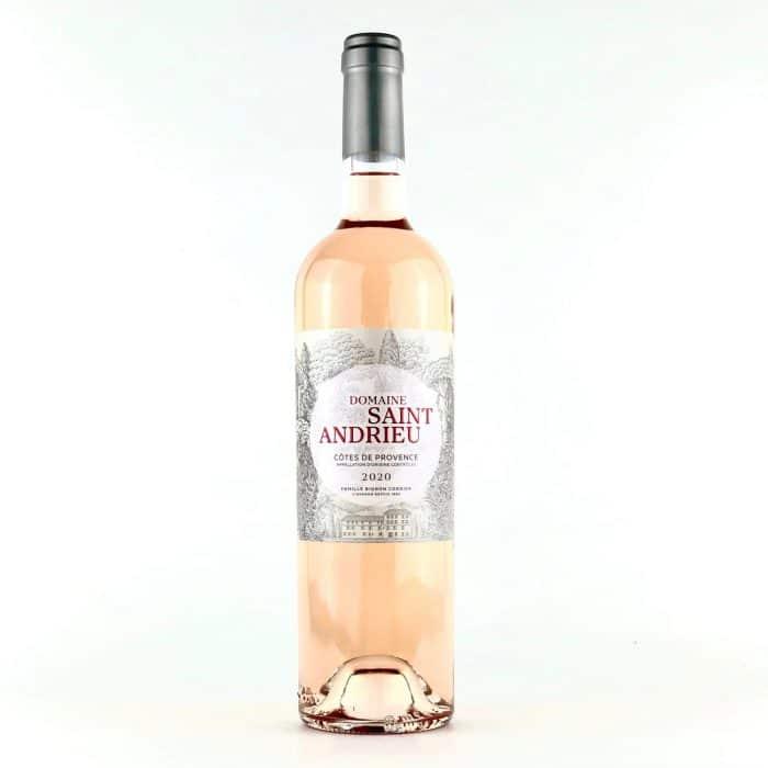 CÔTES DE PROVENCE DOMAINE SAINT ANDRIEU | Frankrijk | gemaakt van de druif: Cinsault, Grenache Blanc, Syrah