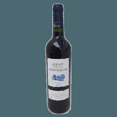 Cave Des Vignerons De Saint-Chinian Jean De La Montagne Rouge 2017 | Frankrijk | gemaakt van de druif: Carignan, Grenache Noir, Syrah
