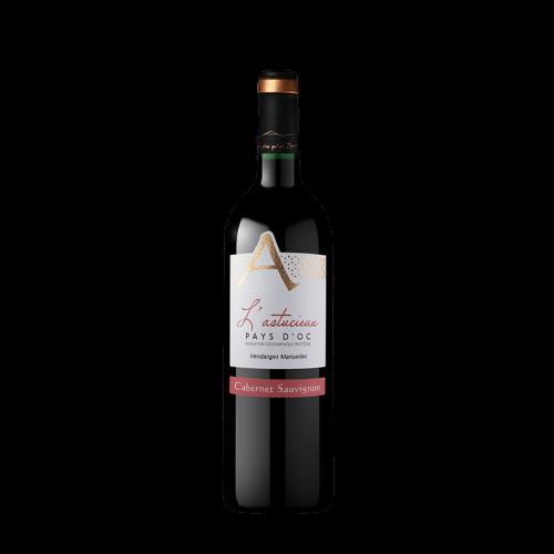 Cave Des Vignerons De Saint-Chinian L'Astucieux Cabernet Sauvignon 2020 | Frankrijk | gemaakt van de druif: Cabernet Sauvignon