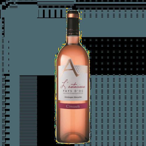 Cave Des Vignerons De Saint-Chinian L'Astucieux Cinsault Rosé 2020 | Frankrijk | gemaakt van de druif: Cinsault