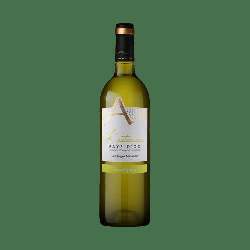 Cave Des Vignerons De Saint-Chinian L'Astucieux Sauvignon Blanc 2019   Frankrijk   gemaakt van de druif: Sauvignon Blanc