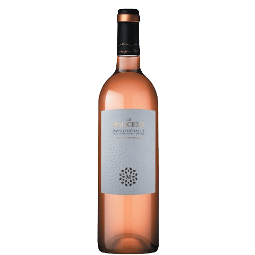 Cave Des Vignerons De Saint-Chinian Le Malicieux rosé 2020 | Frankrijk | gemaakt van de druif: Cinsault, Grenache Noir