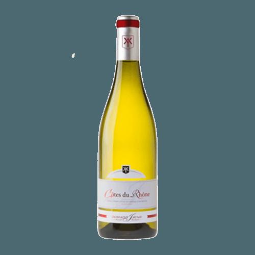 Domaine Jaume Côtes du Rhône Blanc 2020 | Frankrijk | gemaakt van de druif: clairette, Grenache Blanc, marsanne, Roussanne, Viognier