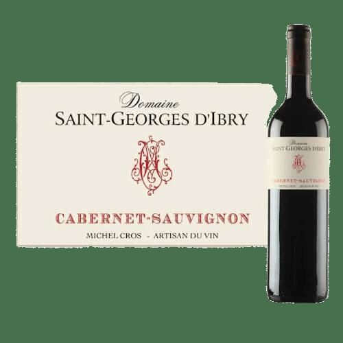 Domaine Saint-Georges D'Ibry Cabernet Sauvignon 2019 | Frankrijk | gemaakt van de druif: Cabernet Sauvignon