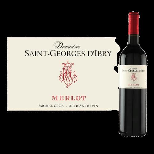 Domaine Saint-Georges D'Ibry Merlot 2019 | Frankrijk | gemaakt van de druif: Merlot