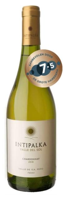Intipalka – Chardonnay | Peru | gemaakt van de druif: Chardonnay