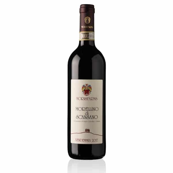 Morisfarms Morellino di Scansano Classico DOCG 0,375L | Italië | gemaakt van de druif: Merlot, Sangiovese, Syrah