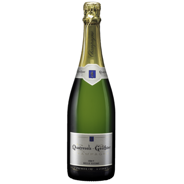 Quatresols Gauthier Champagne Brut Belle Estime Premier Cru | Frankrijk | gemaakt van de druif: Chardonnay, Pinot Meunier, Pinot Noir
