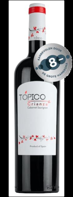 Topico Cabernet Sauvignon Crianza | Spanje | gemaakt van de druif: Cabernet Sauvignon