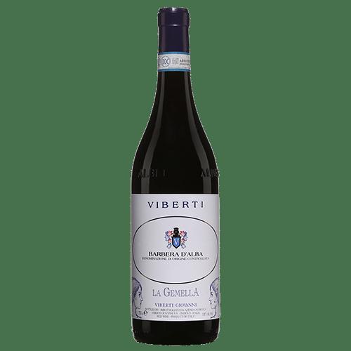 Viberti Giovanni La Gemella Barbera d'Alba 2019 | Italië | gemaakt van de druif: Barbera