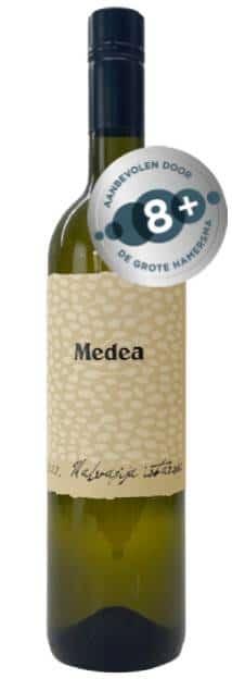 Medea Malvazija Vegan   Kroatië   gemaakt van de druif: Istarska Malvazija