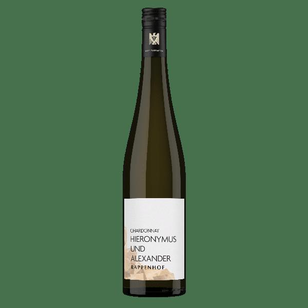 Weingut Rappenhof Chardonnay Gutswein Hieronymus und Alexander | Duitsland | gemaakt van de druif: Chardonnay