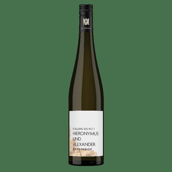 Weingut Rappenhof Riesling Kabinett Hieronymus und Alexander VDP Gutswein | Duitsland | gemaakt van de druif: Riesling