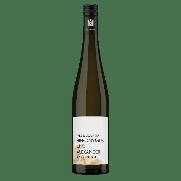Weingut Rappenhof Weissburgunder Hieronymus Und Alexander Gutswein | Duitsland | gemaakt van de druif: Pinot Blanc, Weissburgunder